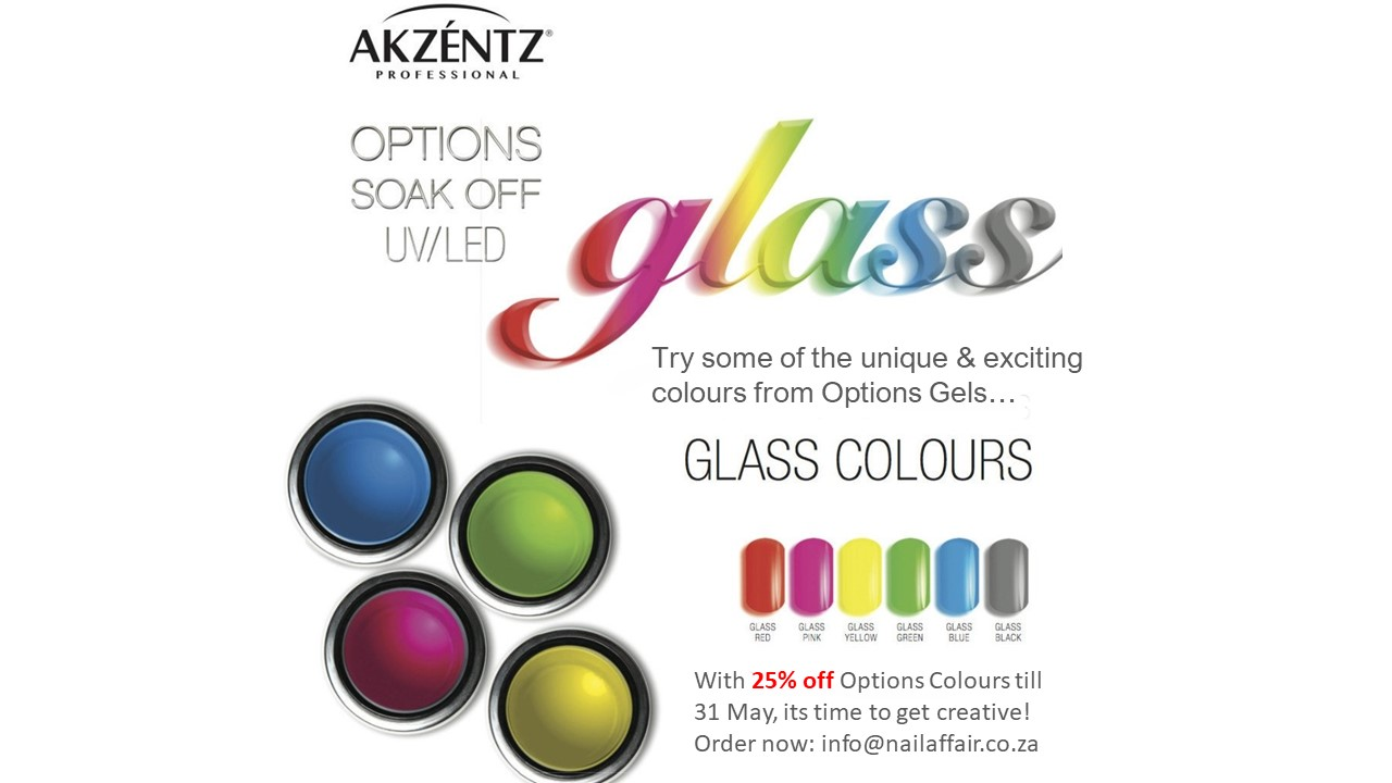 Options 4g Glass Colours